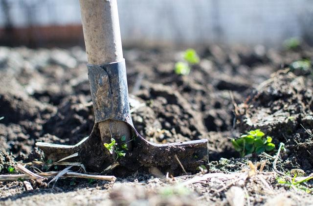 Afgraven van je tuin